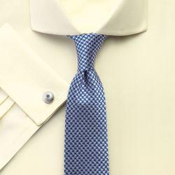 Мужская рубашка под запонки светло-желтая Charles Tyrwhitt сильно приталенная Extra Slim Fit не мнущаяся Non Iron (RG077LYW)